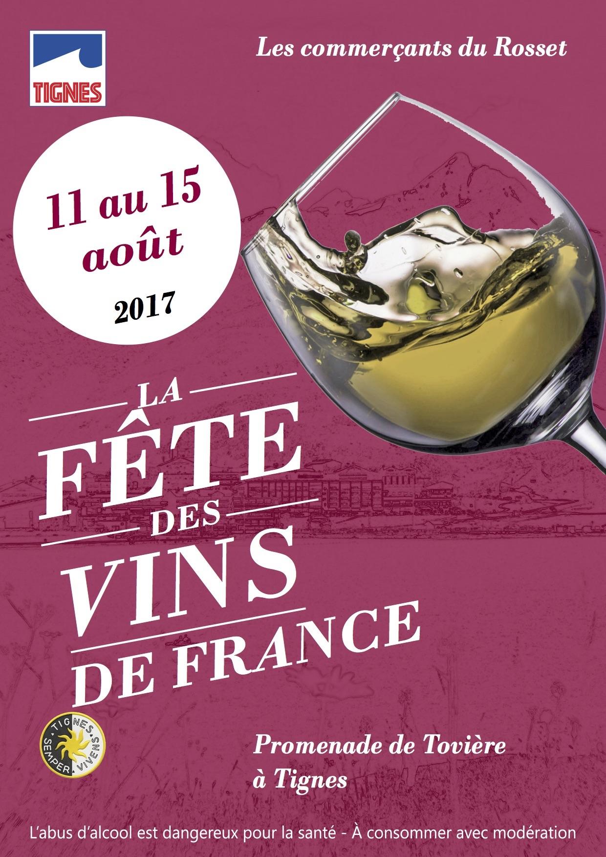 Affiche fete des vins 2017