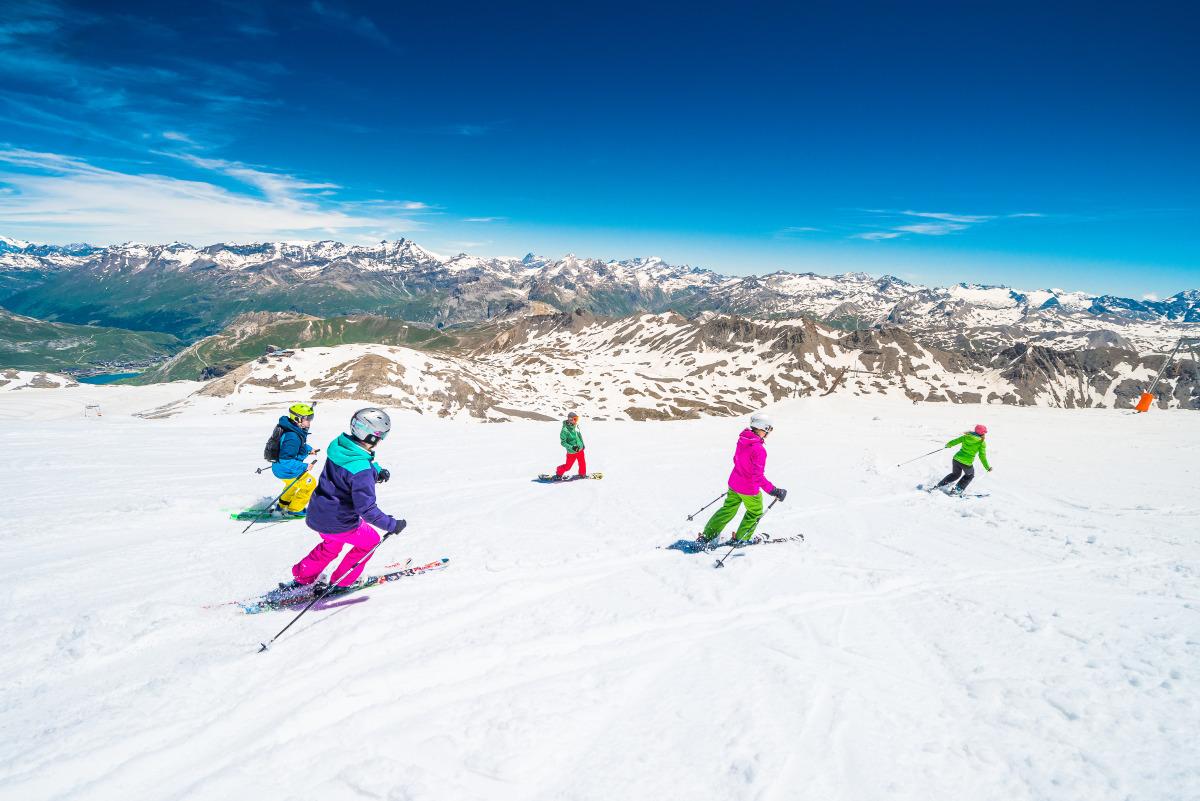 ski été