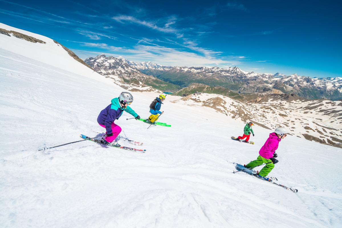 Ski eété